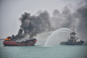 Maritime emergencies maneuver at Imam Khomeini Port