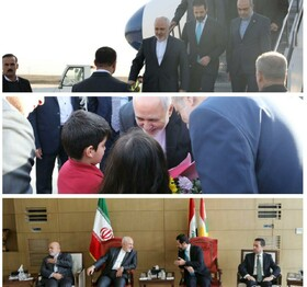 Iranian FM arrives in Sulaymaniyah