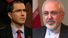 Iranian, Venezuelan FMs hold phone talks