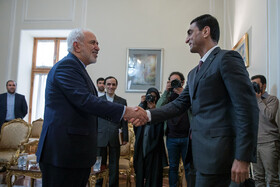 Zarif meets Turkmen, Algerian officials