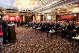 Iran and Syria commerce conference, Syria, January 29, 2019.