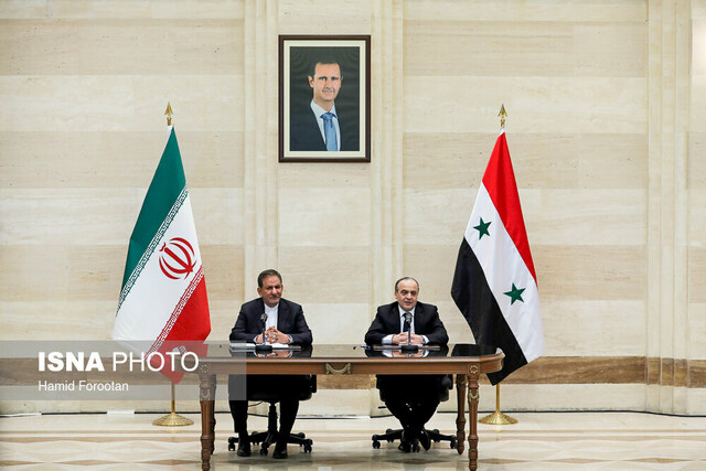 Iran, Syria sign 11 cooperation documents