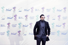 Iranian actor Mehrdad Sedighian is present in the opening ceremony of the 37th Fajr Film Festival, Iran, Tehran, January 29.