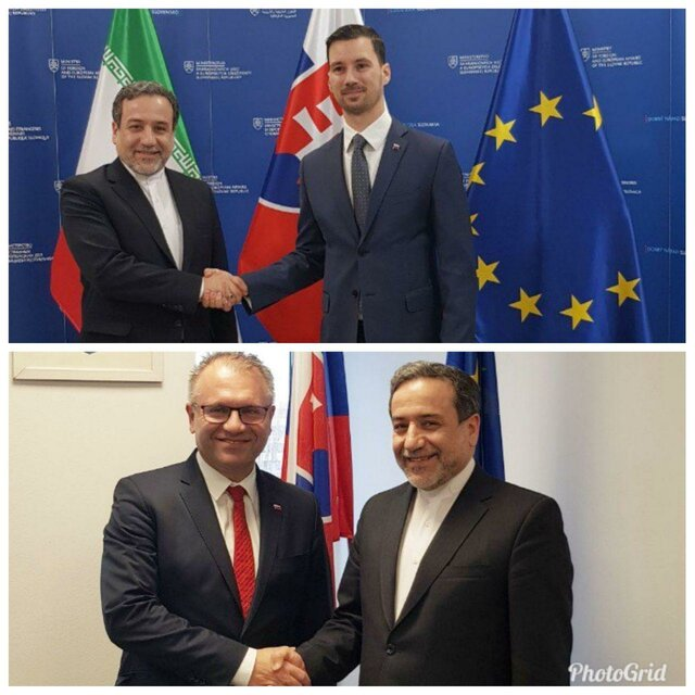 Araqchi meets deputies of Slovak foreign, economic ministers