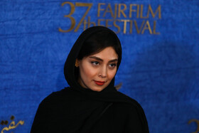 "The film crew of ""Blade and Termeh"" are present on the second day of the 37th Fajr Film Festival, January 31, 2019."