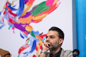Iranian actor Peyman Moaadi is present on the third day of the 37th Fajr Film Festival, February 1, 2019.