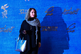 Iranian actress Mahnaz Afshar is present on the third day of the 37th Fajr Film Festival, February 1, 2019.