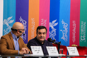 """The film crew of """"Baharestan Khane Mellat"""" are present on the third day of the 37th Fajr Film Festival, Tehran, February 1, 2019."""
