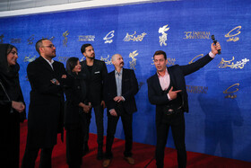 """The film crew of """"Ninth Symphony"""" are present on the third day of the 37th Fajr Film Festival, February 1, 2019."""