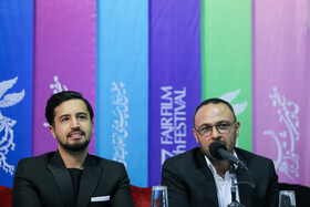 Iranian actor Mehrdad Seddighian is present on the third day of the 37th Fajr Film Festival, February 1, 2019.