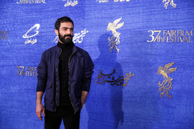 Iranian actor Reza Akhlaghi Rad is present on the fifth day of the 37th Fajr Film Festival, Iran, Tehran, February 3, 2019.