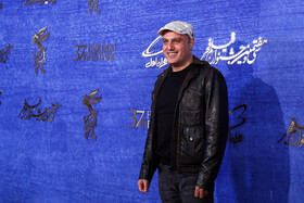 Iranian actor saeed Dakh is present on the fifth day of the 37th Fajr Film Festival, Iran, Tehran, February 3, 2019.