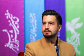 Iranian actor Mehrdad Seddighian is present on the fifth day of the 37th Fajr Film Festival, Iran, Tehran, February 3, 2019.