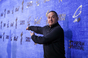 Iranian actor Rambod Javan is present on the fifth day of the 37th Fajr Film Festival, Iran, Tehran, February 3, 2019.