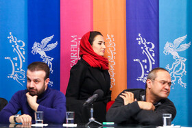Iranian actor Rambod Javan (R) and Iranian actress Negar Javaherian are present on the fifth day of the 37th Fajr Film Festival, Iran, Tehran, February 3, 2019.