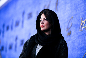 Iranian actress Tanaz Tabatabaei is present on the fifth day of the 37th Fajr Film Festival, Iran, Tehran, February 3, 2019.