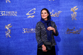Iranian actress Shabnam Moghadami is present on the fifth day of the 37th Fajr Film Festival, Iran, Tehran, February 3, 2019.