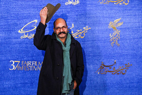 The film crew of 'Night of the Full Moon' are present on the fifth day of the 37th Fajr Film Festival, Iran, Tehran, February 3, 2019.