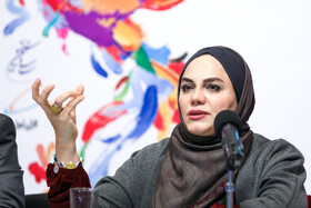 Iranian director and writer Narges Abyar is present on the fifth day of the 37th Fajr Film Festival, Iran, Tehran, February 3, 2019.