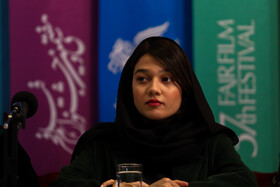 Iranian actress Sadaf Asgari is present on the sixth day of the 37th Fajr Film Festival, February 4, 2019.