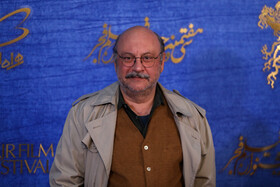 Iranian actor Babak Karimi is present on the sixth day of the 37th Fajr Film Festival, February 4, 2019.