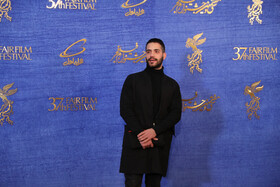 Iranian actor Mohammad Valizadegan is present on the sixth day of the 37th Fajr Film Festival, February 4, 2019.