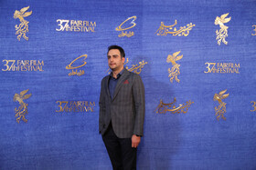 Iranian actor Hamed Komeili is present on the sixth day of the 37th Fajr Film Festival, February 4, 2019.
