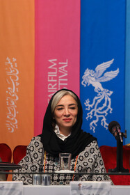 Iranian actress Pantea Panahiha is present on the sixth day of the 37th Fajr Film Festival, February 4, 2019.