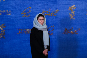Iranian actress Leila Hatami is present on the sixth day of the 37th Fajr Film Festival, February 4, 2019.