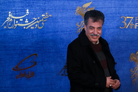 The director of 'A Man without Shadow' Alireza Raeesiyan is present on the sixth day of the 37th Fajr Film Festival, February 4, 2019.