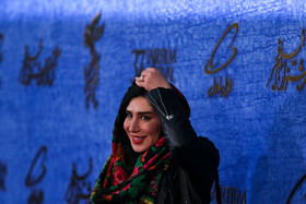 Iranian actress Nasim Adabi is present on the sixth day of the 37th Fajr Film Festival, February 4, 2019.