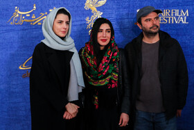 Iranian actor Ali Mosaffa and Iranian actresses Leila Hatami and Nasim Adabi are present on the sixth day of the 37th Fajr Film Festival, February 4, 2019.