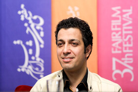 """Iranian actor Mahdi Zamin Pardaz is present on the 7th day of the Fajr Film Festival, Iran, Tehran, February 5. He is one of the members of the cast of """"Watching This Movie is a Crime""""."""