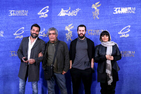 "The film crew of ""Watching This Movie is a Crime"" are present on the 7th day of the Fajr Film Festival, Iran, Tehran, February 5."