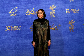 Iranian actress Bahareh Kian Afshar is present on the 7th day of the Fajr Film Festival, Iran, Tehran, February 5.