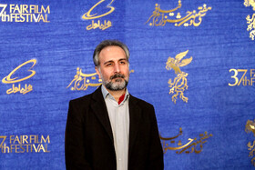 "The film producer of the ""Polo Coat"" is present on the 7th day of the Fajr Film Festival, Iran, Tehran, February 5."