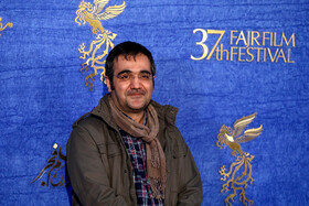 "The director of the ""Polo Coat"" is present on the 7th day of the Fajr Film Festival, Iran, Tehran, February 5."