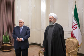 Iran's Rouhani meets Syrian FM
