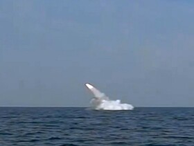Iran successfully launches cruise missile from Qadir-class submarine