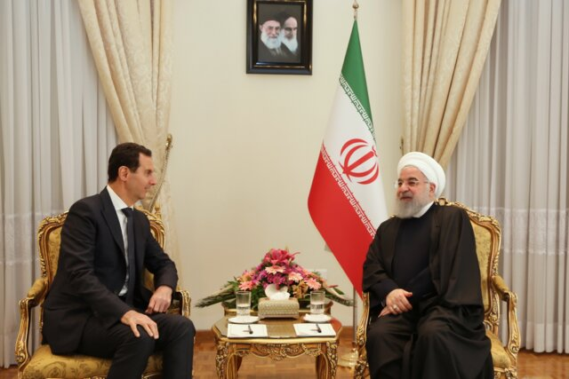 Iran to stand by Syrian gov't, nation like before