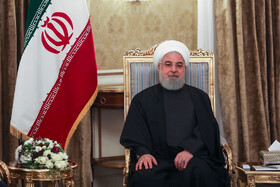 Iranian President Hassan Rouhani holds meeting with Armenian PM Nikol Pashinyan, Iran, Tehran, February 27, 2019.