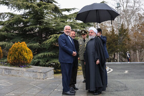 Welcoming ceremony for Armenian PM held in Tehran