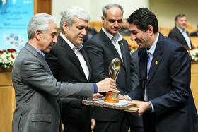 Winners were announced in closing ceremony of 32nd Khwarizmi Intl. Award, Iran, Tehran, March 4, 2019.