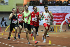 Second day of Iran's  International Indoor Track and Field Championships, Iran, Tehran, March 4, 2019.