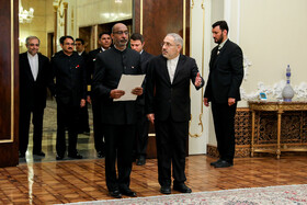 New Indian ambassador is going to present his credentials to Mr Rouhani, Iran, Tehran, March 9, 2019.