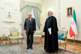New ambassador of Myanmar presents his credentials to Mr Rouhani, Iran, Tehran, March 9, 2019.