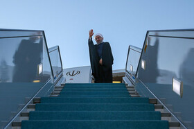 President Rouhani to head for New York