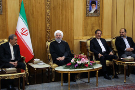 Mr Rouhani Leaves Iran for Iraq, Iran, Tehran, March 11, 2019.