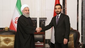 Iranian, Iraqi parliaments biggest supporter of ties between gov'ts: Rouhani