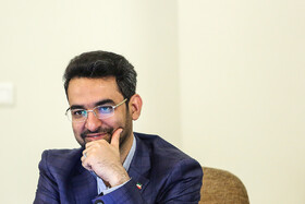 ICT Minister Mohammad Javad Azari Jahromi is present in Iran's cabinet meeting, Iran, Tehran, March 13, 2019.